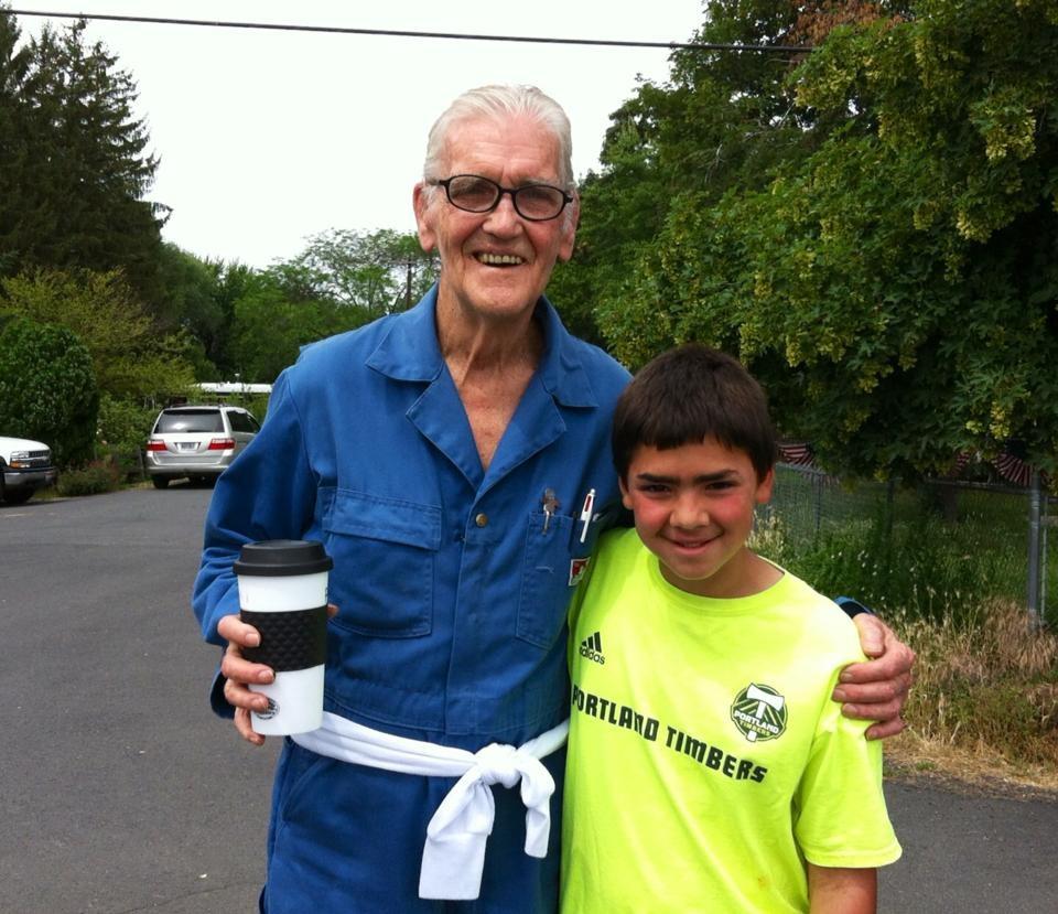 Preston Petty and my Son!