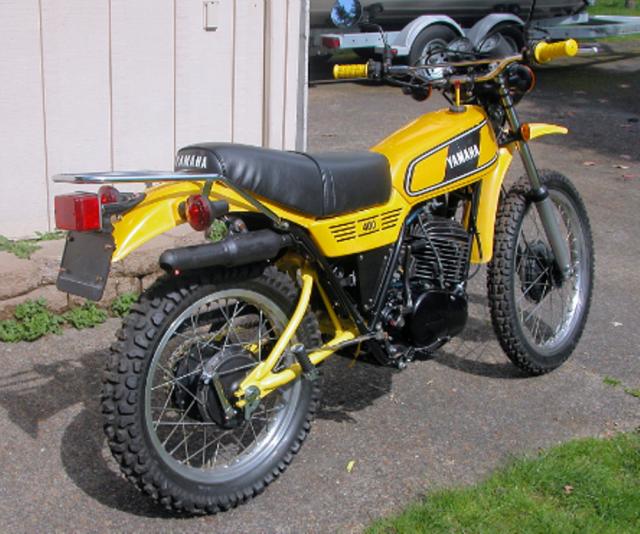 "1978 DT400E ""RestoMod"""